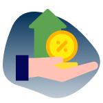 Geld verleihen und Zinsen verdienen