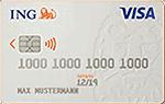 ING VISA Kreditkarte